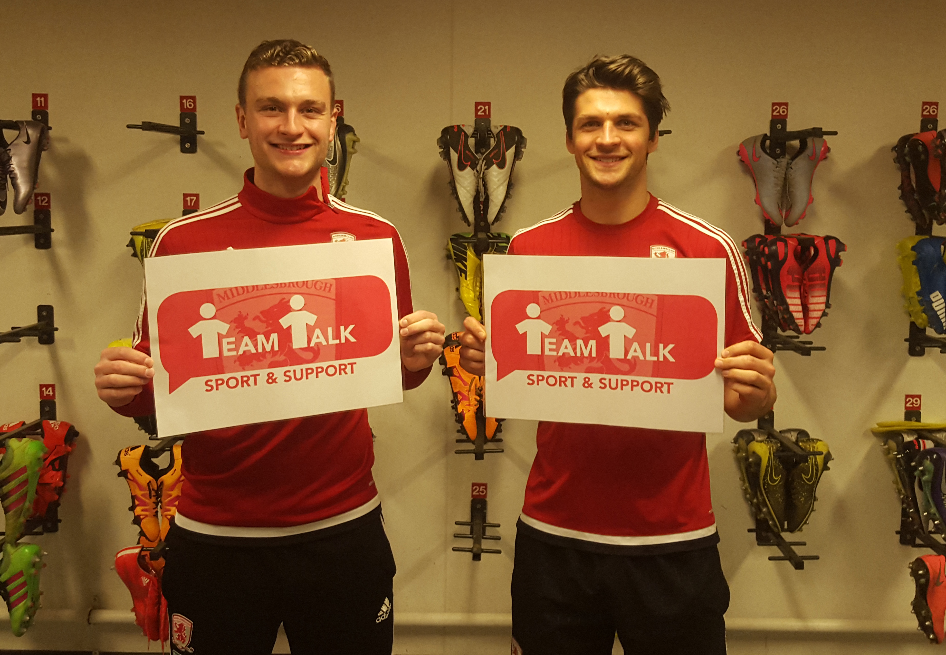 Middlesbrough Charity Calendar To Boost 'Team Talk